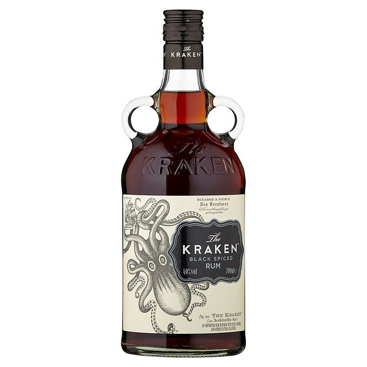 The Kraken Black Spiced Rum (40%) 0,7l - eDELIA.sk