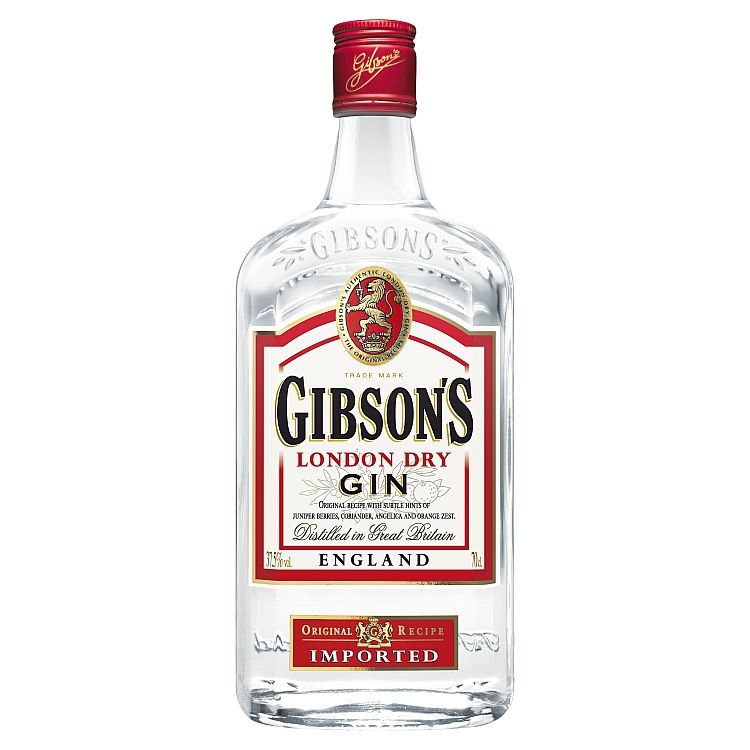 Gibson's London Dry Gin (37,5%) 0,7l - eDELIA.sk