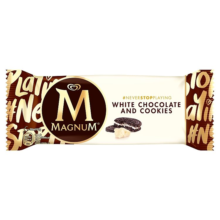 Magnum White Chocolate & Cookies 74 g - eDELIA.sk